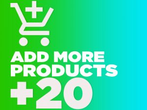Add 20 more products